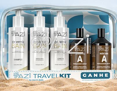 Kit Travel - Azi Cosméticos