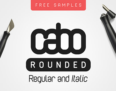 Free Cabo Rounded Sans Serif Font