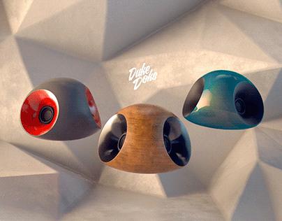 3D Printed bluetooth speakers
