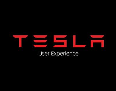 Tesla UX (Low Fidelity)