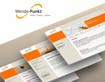 Corporate Design Wende·Punkt