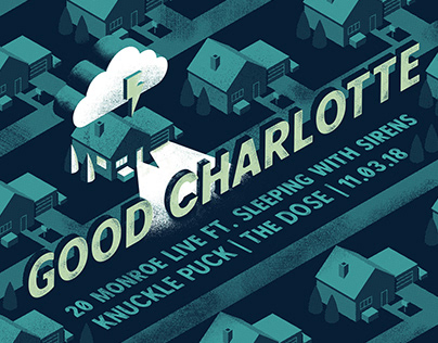 Good Charlotte Gig Poster