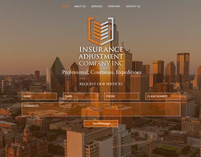 Insurance Adjustment Co. Web Design
