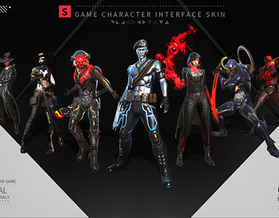 《rules of survival》Character interface skin