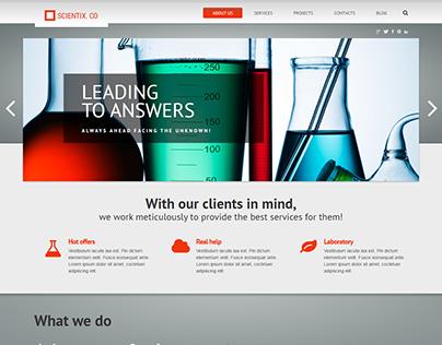 Science WordPress Theme