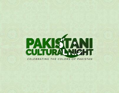 Pakistani Cultural Night 2018