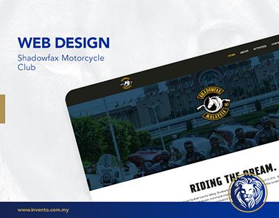 Web Design - Shadowfax Motorcycle Club