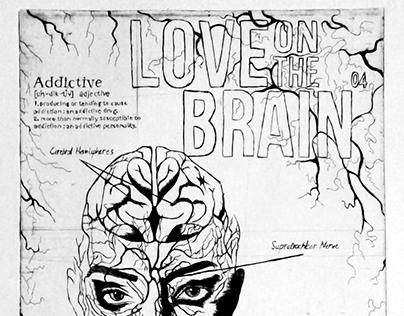 Love On The Brain - Printmaking