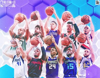 2019 NBA All-Star Artwork