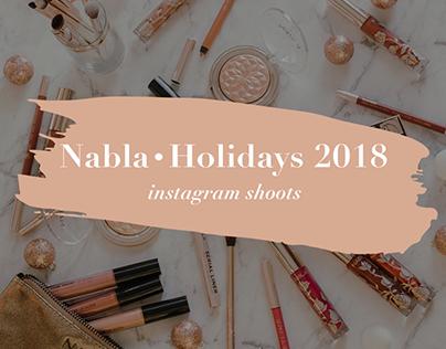 Nabla Holidays 2018 • instagram shoots
