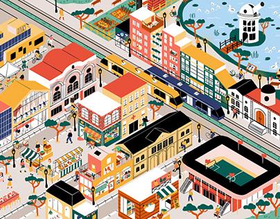 Animaville | Illustration