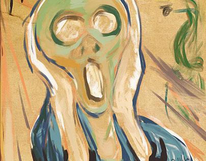 The 5th Scream #MunchContest (second version)