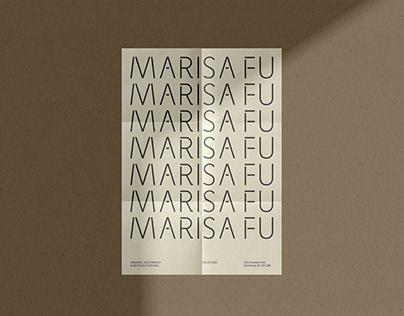 Marisa Fu - Brand Identity