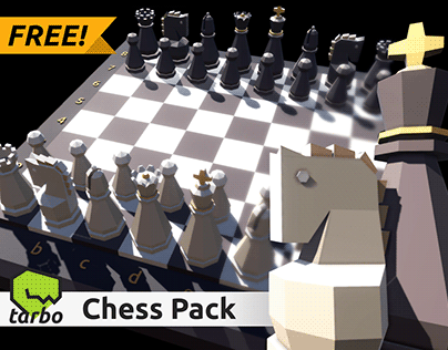 Lowpoly Chess Pack