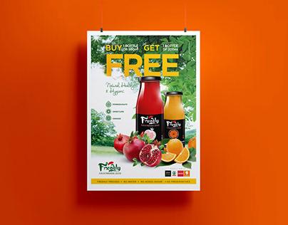 Poster Designs - Freshly