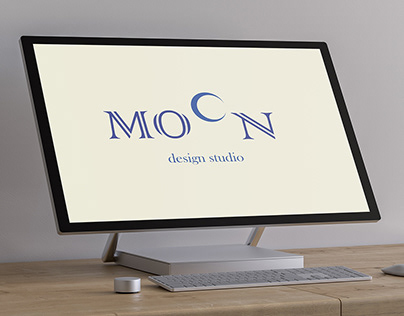 Logo Design for MOON Design Studio