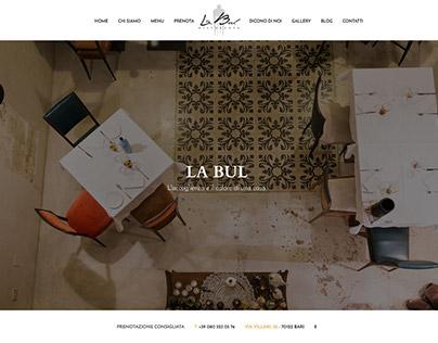 Ristorante La Bul | Sito web