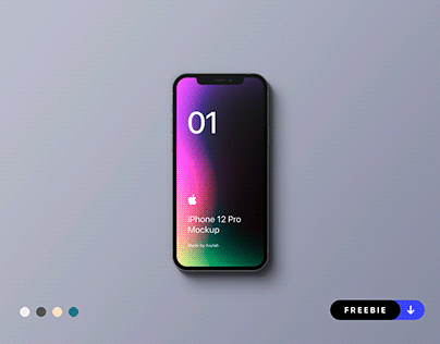 Freebie - iPhone 12 Pro Mockup - PSD