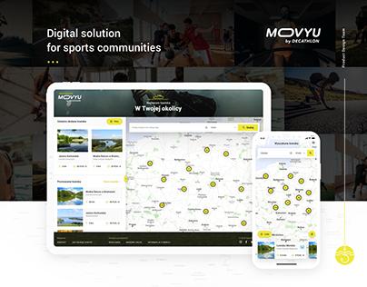 MOVYU by Decathlon – solution for sport communities