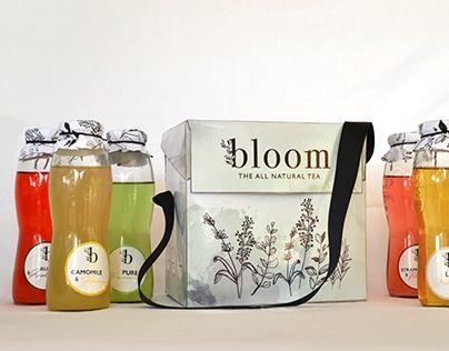 Bloom   tea packaging