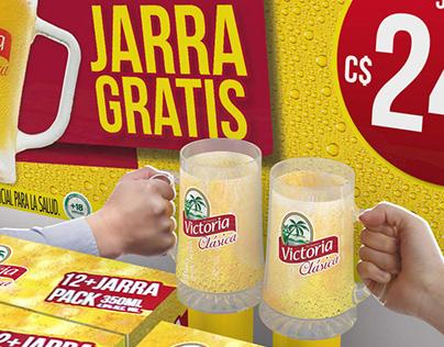 Jarra Gratis! VICTORIA