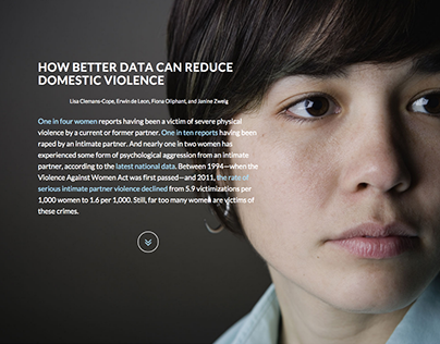 How better data can reduce domestic violence