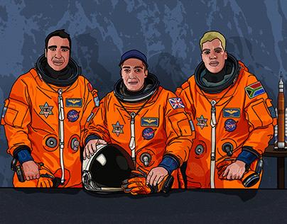 Anxious Astronauts