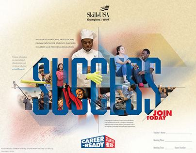 SkillsUSA Promotional Posters