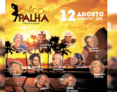 Flyer - Samba Chico Palha