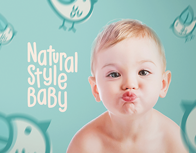 NATURAL STYLE BABY - Branding