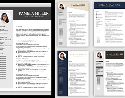 Free One Page Resumes