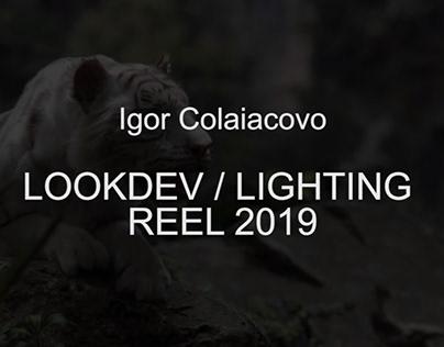 Lookdev / Lighting - Reel 2019