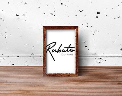 Rubato Guitars Co. CI and Logo Design.