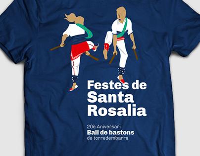 Samarreta Santa Rosalia 2016