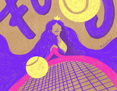 Concept Art - The Tennis Player