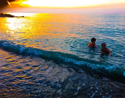 Imatge Sicilia a la posta de sol