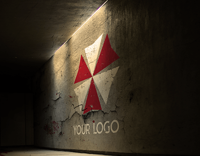 Free Logo Mock-Up – Post Apocalypse