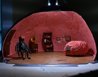 Inside My Head, stop-motion junior film set