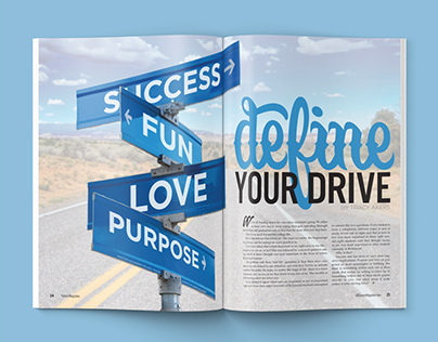 """Define Your Drive"" Magazine Feature"