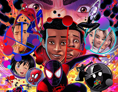 Enter the Spider-Verse (official poster)