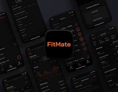 Fitmate – UI/UX Design Process