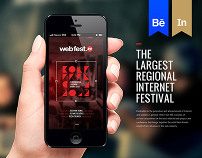 WebFest - iPhone App