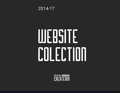 Website Collection - Studio Createam | 2015-17
