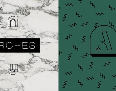 Arches Salon Branding Exploration & Pitch Deck