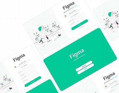 Sign In & Sign Up UI design