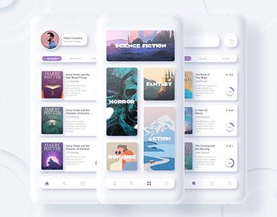 Buko - Audiobook mobile app   UI/UX