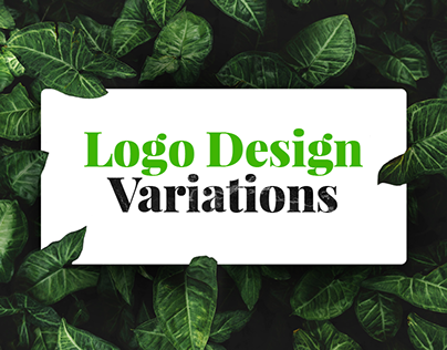 Organic & Eco Health Food Store Logo Design Variations