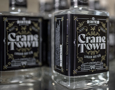 Rihter Distillery - Branding & Label Design