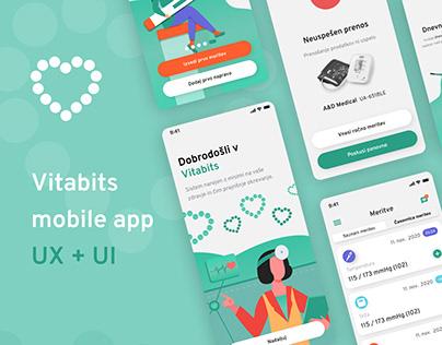 Vitabits Mobile App UX+UI