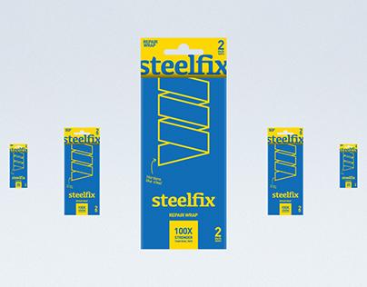 SteelFix Repair Wrap Logo & Packaging